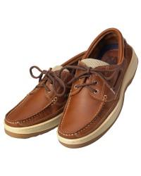 Chaussures Sport cuir marron 44