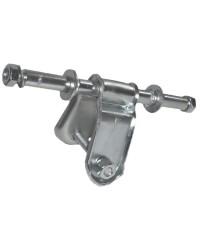 Etrier pour roues latérales ø120 mm droit