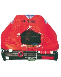 Radeau professionnels autogonflables modèle Med-Sea 6 P