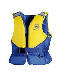 Aide à la flottaison Acqua Sailor 50N 25/40 kg jaune fluo/bleu