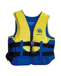 Aide à la flottaison Acqua Sailor 50N 40/60 kg jaune fluo/bleu