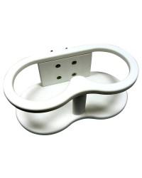 Porte-jumelles blanc 230x120x85 mm