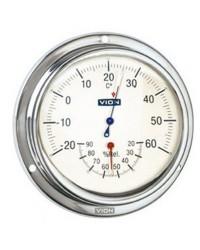 Hygromètre-thermomètre Vion 125mm