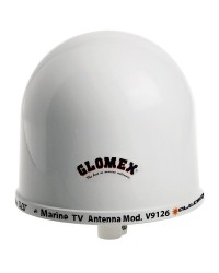 Antenne TV omnidirectionnelle GLOMEX ALTAIR V9126 27,5dB + 20M de cable