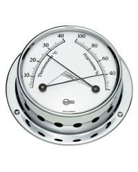 Hygromètre Barigo Tempo S laiton chromé