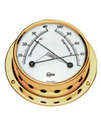 Hygromètre Barigo Tempo S laiton poli