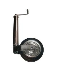 Roue jockey réglable tube de ø60 mm