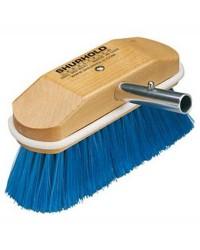 Brosse 8'' fibres souples bleu SHURHOLD