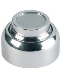 Bloque-porte magnétique laiton chromé