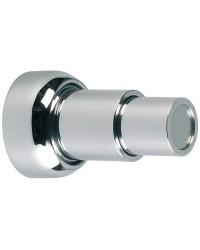 Bloque-porte magnétique télescopique laiton chromé