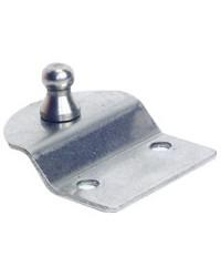 Plaque de fixation porte-à-faux avec rotule Ø10mm