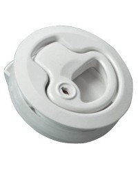 Lève-plancher nylon blanc avec serrure