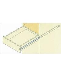 Coulisseaux inox pour tiroir 254mm