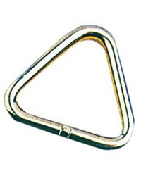 Anneau inox triangulaire 5x45mm