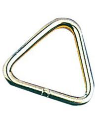 Anneau inox triangulaire 6x50mm