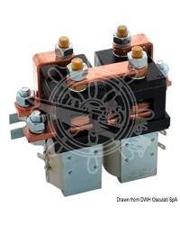 Boite à relai pour guindeau 3500W - 24V - 2 ou 4 fils