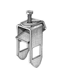 Etrier de fixation pour tube 40 x 40 mm pour chassis de 60 mm
