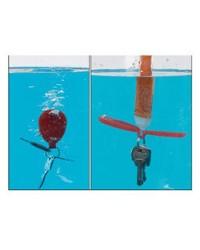 Porte-clé autogonflant Flo-up breveté (120g maxi)