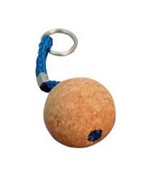 Porte-clés liège une boule ø35 mm