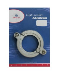 Anode pied ouvrable Yanmar SD20 à SD50 alu OEM 19644002660