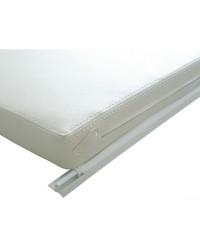 Liston en PVC semi-rigide blanc pour voiles légers x 4M