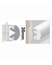 Support de liston de 4 mètres - modèle 30 mm