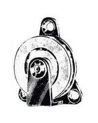 Poulie à cable fixe - ø50 mm