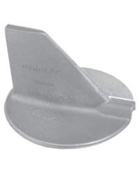 Anode queue de carpe Yamaha/Mariner 100/225CV 4T alu Ø91mm OEM 6E5-45371-01 P droit