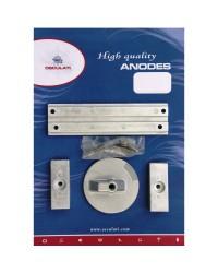 Kit ANODE Mercury pour VERADO 4/OPTIMAX magnésium OEM 826134x2 + 828298+762145