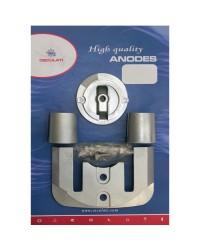Kit ANODE Mercruiser pour BRAVO I à partir de 88 magnésium OEM 762145+806188x1+821630+806190x2