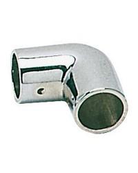 Coude laiton chromé 90° - ø22 mm