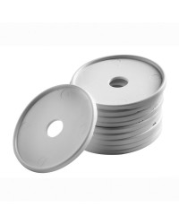 Support en polyéthylène blanc par 10 pièces