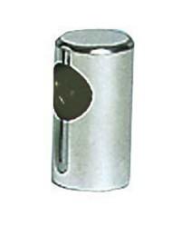 Embout de main-courante inox terminal ø40x80 pour tubes ø30mm - goujon M8