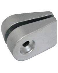 Anode plaque double Johnson/Evinrude 20/25/35HP zinc à partir de 1991 OEM 389999
