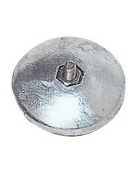 Anode rosace pour gouvernail Ø70mm - 300g - par paire