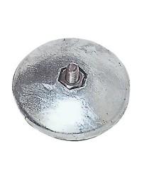 Anode rosace pour gouvernail Ø130mm - 1350g - par paire
