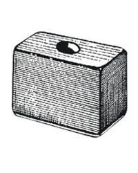Anode cube Tohatsu 9,9/15/18CV OEM 3B7-60218-1
