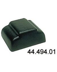 Embout plastique noir pour profilé alu 44.494.10