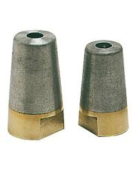 Ecrou + anode Radice 20/22/25mm zinc pour écrous hélice nouveau type radice de 1996