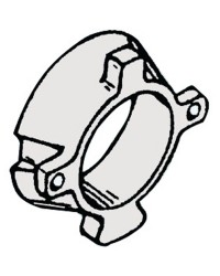Anode collier Mercruiser Alpha zinc OEM 806105A
