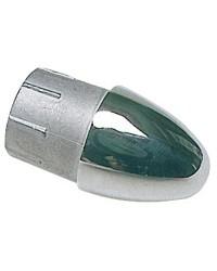 Bouchon ogive inox pour tube ø22mm
