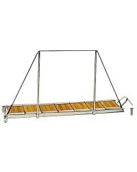 Passerelle/échelle en inox 150x35cm