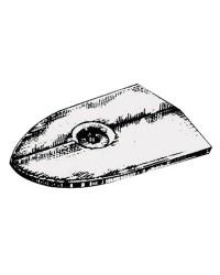 Anode plaque Yamaha/Mariner pour 6C/6D/8C OEM 6G1-45251-02