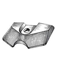 Anode plaque Yamaha/Mariner pour 2B/3A/4B/4FA/5C OEM 6L5-45251-03