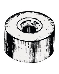Anode rondelle Ø24x14mm zinc pour Yamaha/Mariner 25/60CV OEM  688-4525101