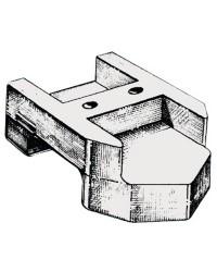 Anode groupe arrière Mercruiser Alpha One zinc OEM 821631A-1