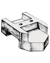Anode groupe arrière Mercruiser Alpha One alu OEM 821631A-2