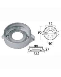 Anode collier magnésium pour Sail Drive 120 Ø 95 x H 28 mm OEM 876286