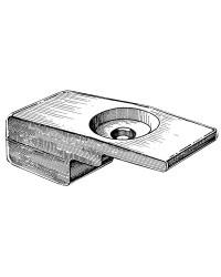 Anode plaque 60/140CV 4T OEM 55321-90J01