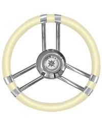 Volant inox/ivoire 350mm pour cône universel